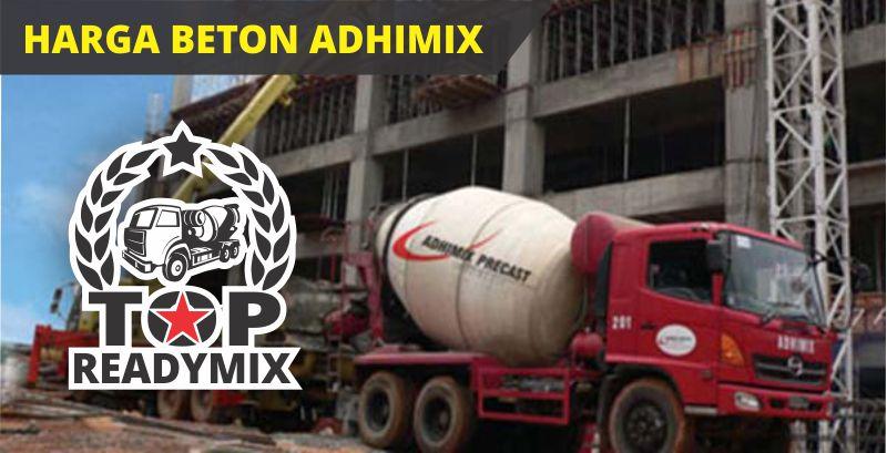 harga beton adhimix